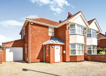 Thumbnail 3 bedroom semi-detached house for sale in Cromer Road, Hellesdon, Norwich