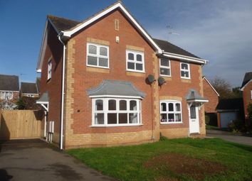 Thumbnail 3 bedroom property to rent in Skinner Avenue, Upton, Northampton