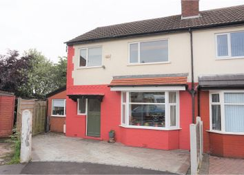 Thumbnail 3 bed semi-detached house for sale in Ansleigh Avenue, Manchester