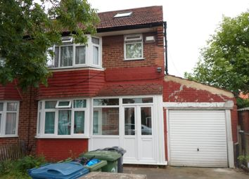 Thumbnail 4 bed semi-detached house for sale in Orchard Grove, Edgware Middlesex