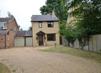 Thumbnail 3 bed link-detached house to rent in Church Hill, Castor, Peterborough