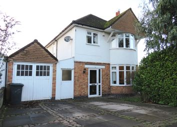 Thumbnail 3 bed detached house for sale in Kingsmead Road, Knighton, Leicester