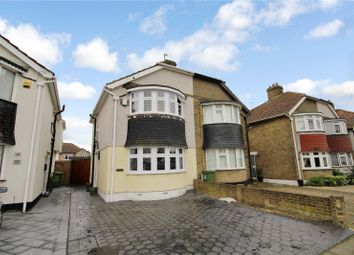 Thumbnail 2 bed semi-detached house for sale in Budleigh Crescent, Welling, Kent