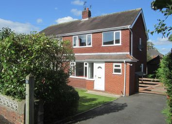 Thumbnail 3 bed semi-detached house to rent in Boundary Lane, Mossley, Congleton