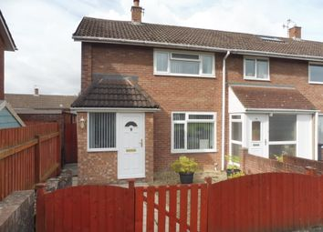 Thumbnail 2 bed end terrace house for sale in Rumney Walk, Llanyravon, Cwmbran