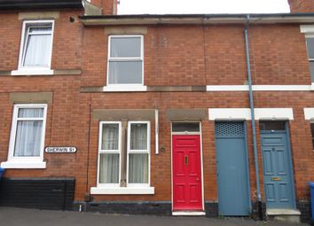 Thumbnail 2 bed terraced house for sale in Sherwin Street, Off Broadway, Derby