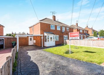 Thumbnail 2 bed semi-detached house for sale in Heronville Road, West Bromwich