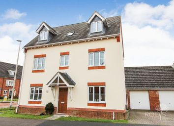 Thumbnail 4 bed detached house for sale in Horne Road, Thatcham
