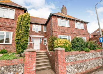 Thumbnail 3 bed flat for sale in Sutton Road, Seaford