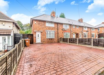 Thumbnail 3 bed end terrace house for sale in Flaxhall Street, Walsall