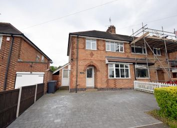 Thumbnail Semi-detached house for sale in Anstey Lane, Groby, Leicester