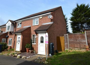 Thumbnail 2 bedroom end terrace house for sale in Rye Close, Eynesbury, St Neots, Cambridgeshire