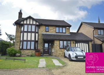 Thumbnail 4 bed detached house for sale in Tithe Barn Close, Raunds, Northamptonshire