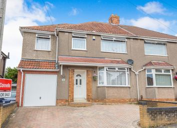 Thumbnail 4 bed semi-detached house for sale in Hillyfield Road, Headley Park, Bristol