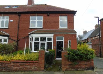 Thumbnail 3 bed terraced house for sale in Dene Road, Tynemouth, North Shields