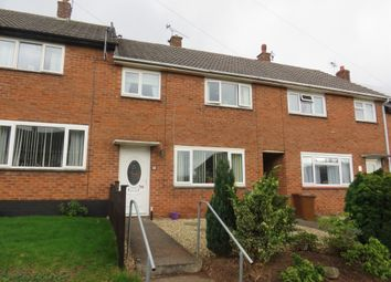 Thumbnail 3 bed terraced house for sale in Courtney Road, Tiverton