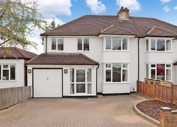 Thumbnail 4 bed semi-detached house for sale in Gurney Court Road, St.Albans