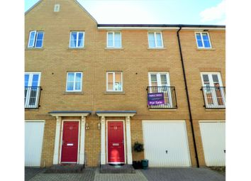 Thumbnail 3 bed town house for sale in Appleton Mews, Colchester