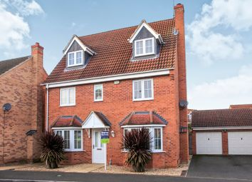 Thumbnail 5 bedroom detached house for sale in Hansel Close, Sugar Way, Peterborough