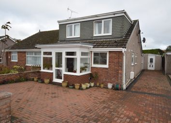 Thumbnail 3 bed semi-detached bungalow for sale in Whinlatter Drive, Barrow In Furness, Cumbria