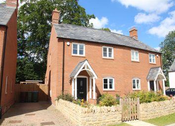 Thumbnail 2 bed semi-detached house for sale in All Saints Close, Nash, Milton Keynes