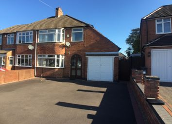Thumbnail 3 bed semi-detached house to rent in Witherford Croft, Solihull