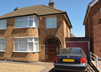 Thumbnail 3 bed semi-detached house for sale in Thorpe Drive, Wigston, Leicester