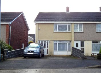 Thumbnail 2 bedroom end terrace house for sale in Gwernfadog Road, Ynysforgan, Swansea