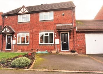 Thumbnail 2 bed semi-detached house for sale in Antony Gardner Crescent, Leamington Spa