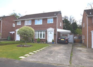 Thumbnail 3 bed semi-detached house for sale in Hadleigh Gardens, Frimley Green, Camberley, Surrey