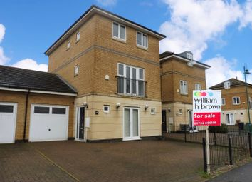 Thumbnail 4 bed link-detached house for sale in Hargate Way, Hampton Hargate, Peterborough