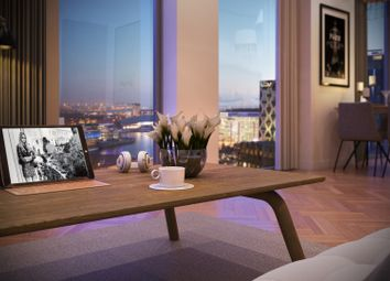 Thumbnail 2 bed flat for sale in Final Tower, Salford Quays