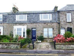 Thumbnail 2 bed flat to rent in Pettycur Road, Kinghorn, Burntisland