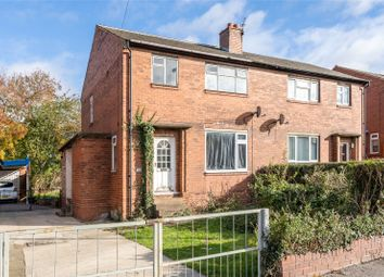 Thumbnail 3 bed semi-detached house for sale in Leatham Crescent, Featherstone