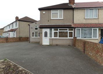 Thumbnail 3 bed semi-detached house to rent in Woodrow Avenue, Hayes