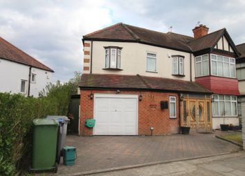 Thumbnail 6 bed detached house to rent in The Fairway, Wembley