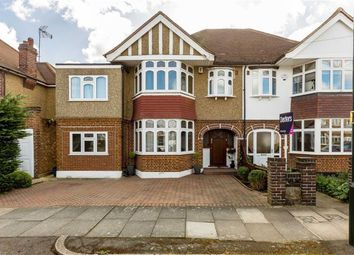 Thumbnail 4 bed semi-detached house for sale in Strathearn Avenue, Whitton, Twickenham