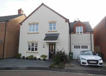 Thumbnail 4 bed detached house for sale in Church Farm Close, Cosby, Leicester