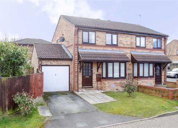 Thumbnail 3 bed semi-detached house for sale in Rathbone Close, Crownhill, Milton Keynes, Buckingamshire