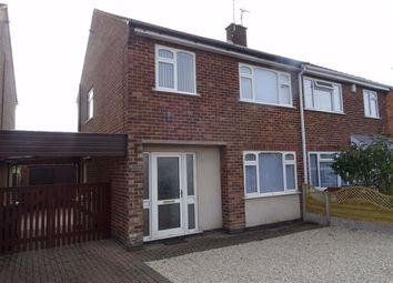 Thumbnail 3 bed semi-detached house to rent in Cedar Road, Earl Shilton, Leicester