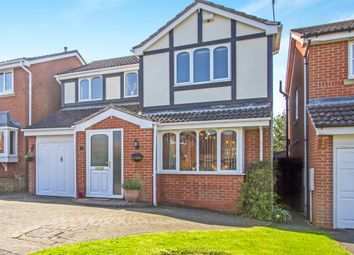 Thumbnail 4 bedroom detached house for sale in Hawker Road, Oadby, Leicester