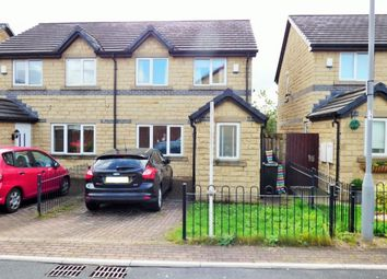 Thumbnail 3 bed semi-detached house for sale in Coleshill Way, Bierley, Bradford