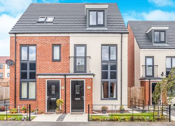 Thumbnail 3 bed semi-detached house for sale in Elmwood Park Mews, Great Park, Gosforth