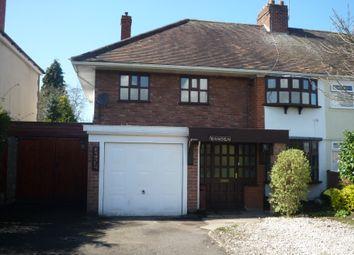 Thumbnail 3 bed semi-detached house to rent in Wolverhampton Road, Penkridge, Staffs