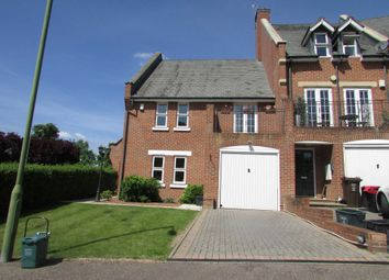 Thumbnail 3 bed end terrace house to rent in Strawberry Crescent, London Colney, St.Albans