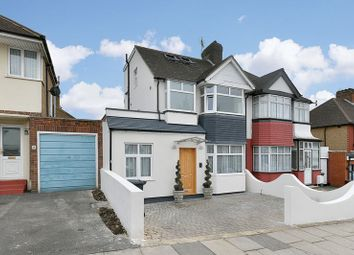 Thumbnail 3 bed semi-detached house for sale in Salcombe Gardens, London