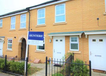 Thumbnail 2 bedroom terraced house to rent in Thompson Close, Corby