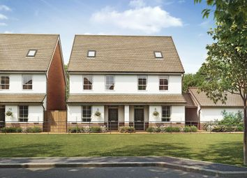 "Thumbnail 3 bedroom end terrace house for sale in ""Knighton"" at Hamble Lane, Bursledon, Southampton"