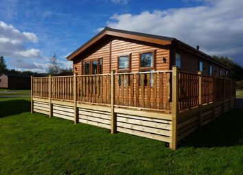 Thumbnail 2 bed lodge for sale in Borwick Lane Borwick, Carnforth