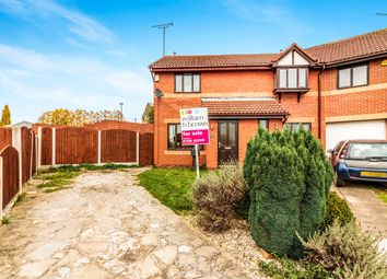 Thumbnail 2 bed semi-detached house for sale in Newbiggin Close, Parkgate, Rotherham